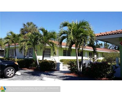 Lauderdale By The Sea Condo/Townhouse For Sale: 4136 Sea Grape Dr #4