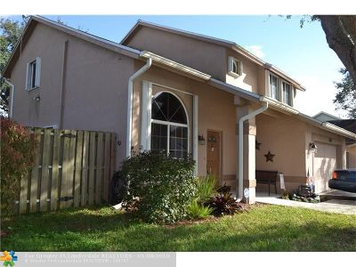 Sunrise Single Family Home For Sale: 3262 NW 121st Ave