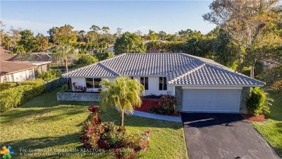 Coral Springs Single Family Home For Sale: 1337 NW 82nd Ave
