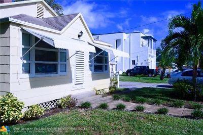 Oakland Park Single Family Home For Sale: 1021 NE 33 Street