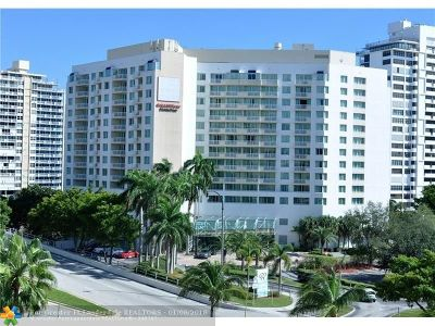 Fort Lauderdale Condo/Townhouse For Sale: 2670 E Sunrise Blvd #1234