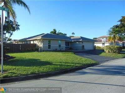 Coral Springs Single Family Home For Sale: 2060 NW 107th Way