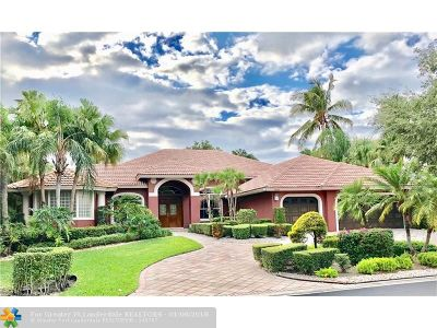 Coral Springs Single Family Home For Sale: 1030 NW 121st Ter