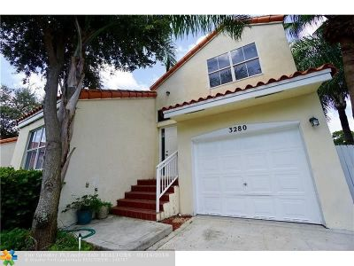 Hollywood Single Family Home For Sale: 3280 N 37th Ter