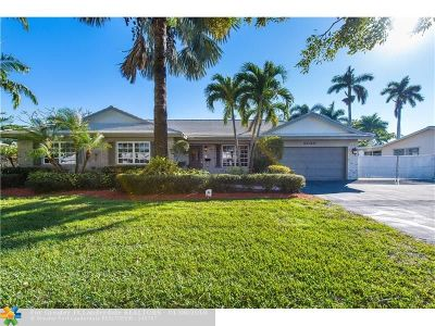 Plantation Single Family Home For Sale: 6030 SW 8th St