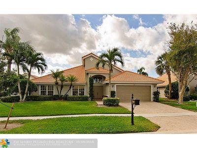 Boynton Beach Single Family Home For Sale: 7390 Potomac Falls Ln