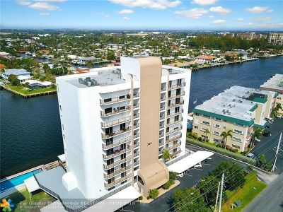 Pompano Beach Condo/Townhouse For Sale: 701 N Riverside Dr #401