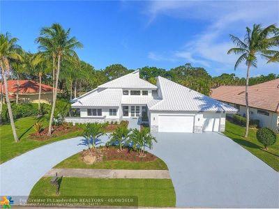 Boca Raton Single Family Home For Sale: 4404 Bocaire Blvd