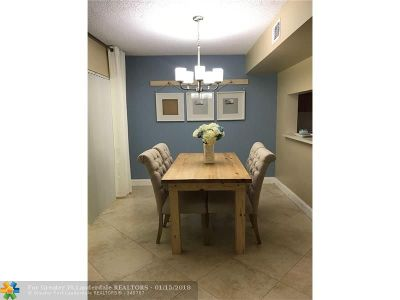 Plantation Condo/Townhouse For Sale: 784 NW 91st Ter #784