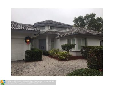 Coral Springs Rental For Rent: 1940 Augusta Ter