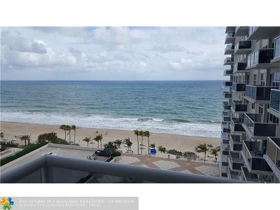 Fort Lauderdale Condo/Townhouse For Sale: 3500 Galt Ocean Dr #912