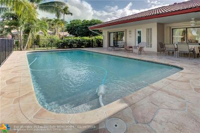 Coral Springs Single Family Home For Sale: 3933 NW 72nd Dr