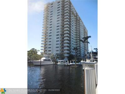 Fort Lauderdale Condo/Townhouse For Sale: 3200 Port Royale Dr #2104