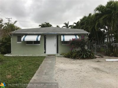 Broward County Multi Family Home For Sale: 1101 NE 13th Ave