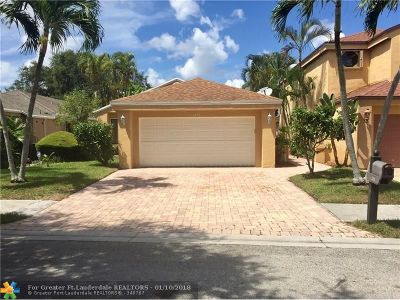 Coconut Creek Single Family Home For Sale: 3491 NW 21st St