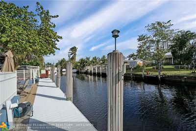 Fort Lauderdale Single Family Home For Sale: 2454 Sugarloaf Ln