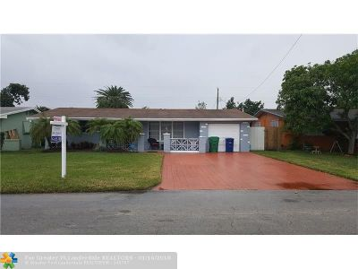 Miramar Single Family Home For Sale: 7912 Shalimar St