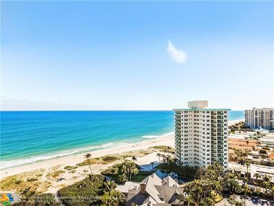 Lauderdale By The Sea Condo/Townhouse For Sale: 2000 S Ocean Blvd #16L