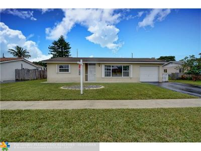Margate Single Family Home Backup Contract-Call LA: 6382 NW 20th St