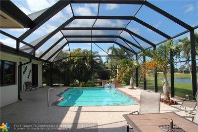 Boca Raton Single Family Home For Sale: 10391 Boca Woods Ln