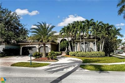 Plantation Single Family Home For Sale: 10775 Blue Palm St