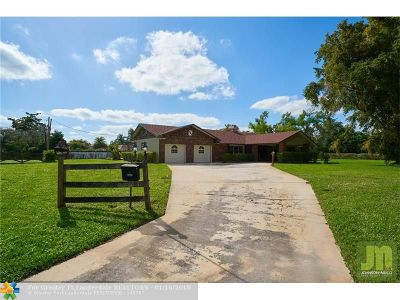 Coconut Creek Single Family Home For Sale: 4650 Briarcliff Lane