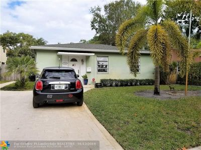 Fort Lauderdale Single Family Home For Sale: 701 SW 16th Ct