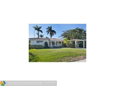 Fort Lauderdale Single Family Home For Sale: 1100 Guava Isle