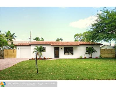 Fort Lauderdale Single Family Home For Sale: 2161 NE 55th Ct