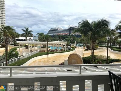 Broward County Condo/Townhouse For Sale: 2000 S Ocean Dr #305