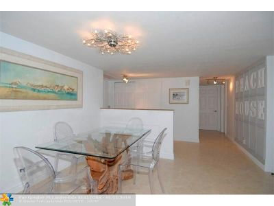 Fort Lauderdale Condo/Townhouse For Sale: 3750 Galt Ocean Dr #505
