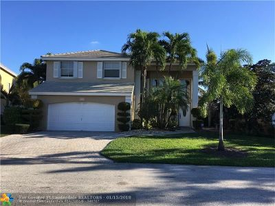 Coconut Creek Single Family Home For Sale: 5214 NW 54th St