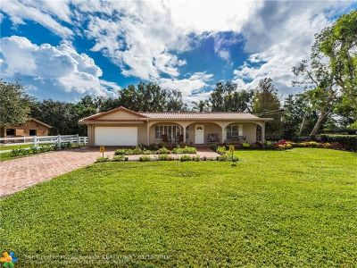 Plantation Single Family Home Backup Contract-Call LA: 11790 SW 2nd St