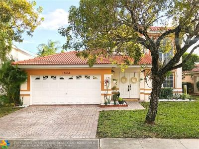 Plantation Single Family Home For Sale: 13452 NW 6th Dr