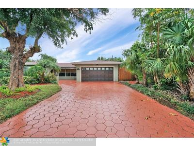 Fort Lauderdale FL Single Family Home For Sale: $445,000