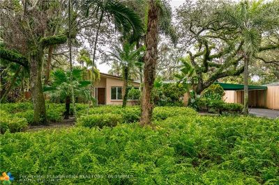 Fort Lauderdale Single Family Home For Sale: 2141 SW 29th Ave