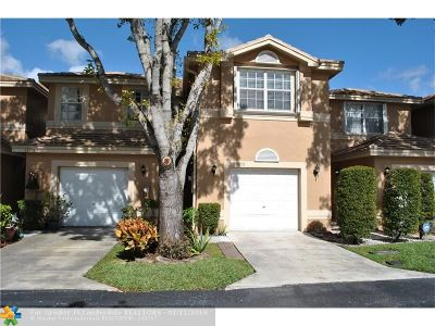 Coral Springs Condo/Townhouse For Sale: 10192 Royal Palm Blvd #10192