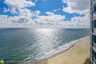 Condo/Townhouse For Sale: 1600 S Ocean Blvd #1803