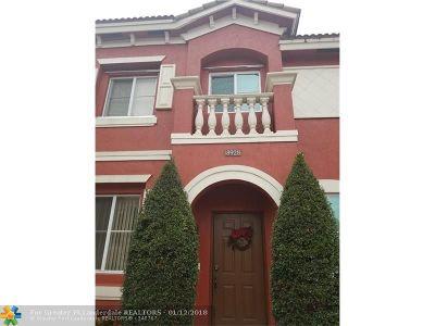 Miramar Condo/Townhouse For Sale: 8928 SW 19th St #8928