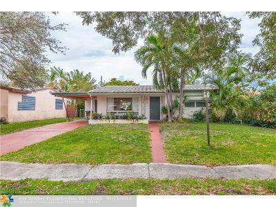 Hollywood Single Family Home For Sale: 3043 Arthur St
