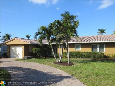 Lauderdale By The Sea Single Family Home For Sale: 1985 Sailfish Place
