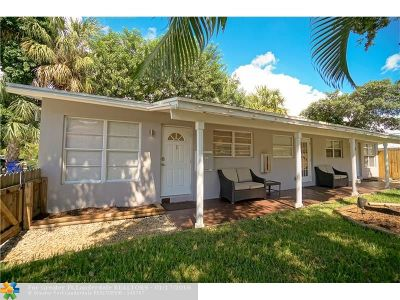 Fort Lauderdale Multi Family Home For Sale: 1009 NE 17th Ct
