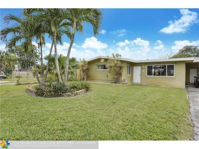 Fort Lauderdale Single Family Home For Sale: 1637 NE 8th Ave