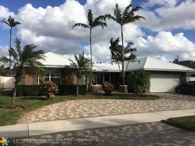 Fort Lauderdale Single Family Home For Sale: 6520 NE 21st Ter