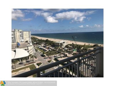 Pompano Beach Condo/Townhouse For Sale: 133 N Pompano Beach Blvd #1204