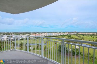 Hallandale Condo/Townhouse For Sale: 1745 E Hallandale Beach Blvd #1202W