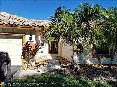 Plantation Single Family Home For Sale: 10285 NW 18th Dr