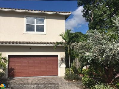 Fort Lauderdale Single Family Home For Sale: 111 NW 11th St