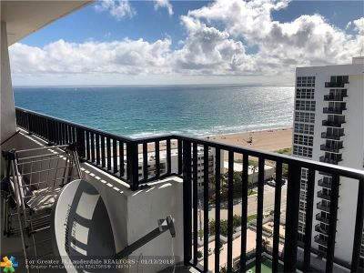 Pompano Beach Condo/Townhouse For Sale: 531 N Ocean #1904