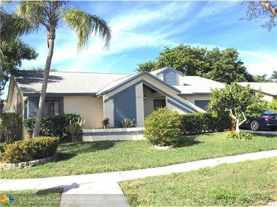 Broward County Single Family Home For Sale: 4235 NW 98th Way